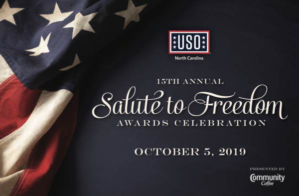Raleigh - Salute to Freedom Awards Celebration • USO of