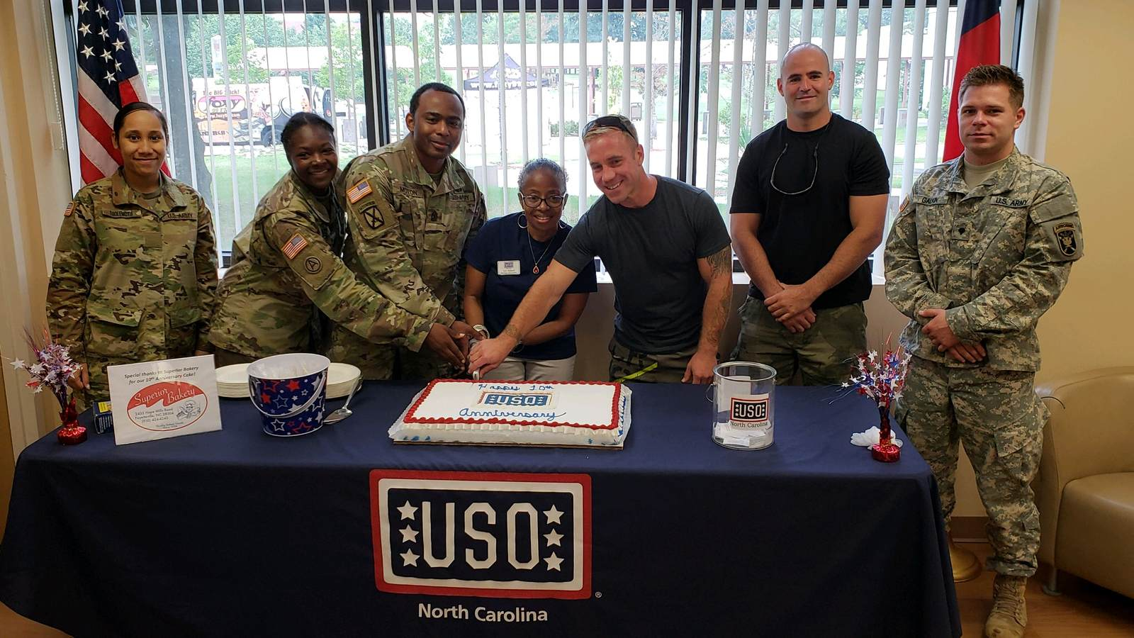 The USO at Fort Bragg