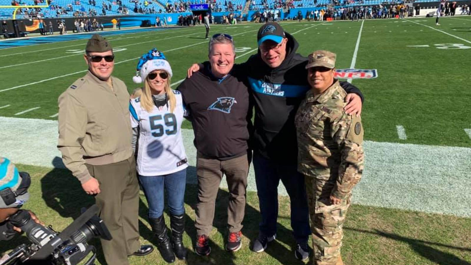 carolina panthers tickets military discount
