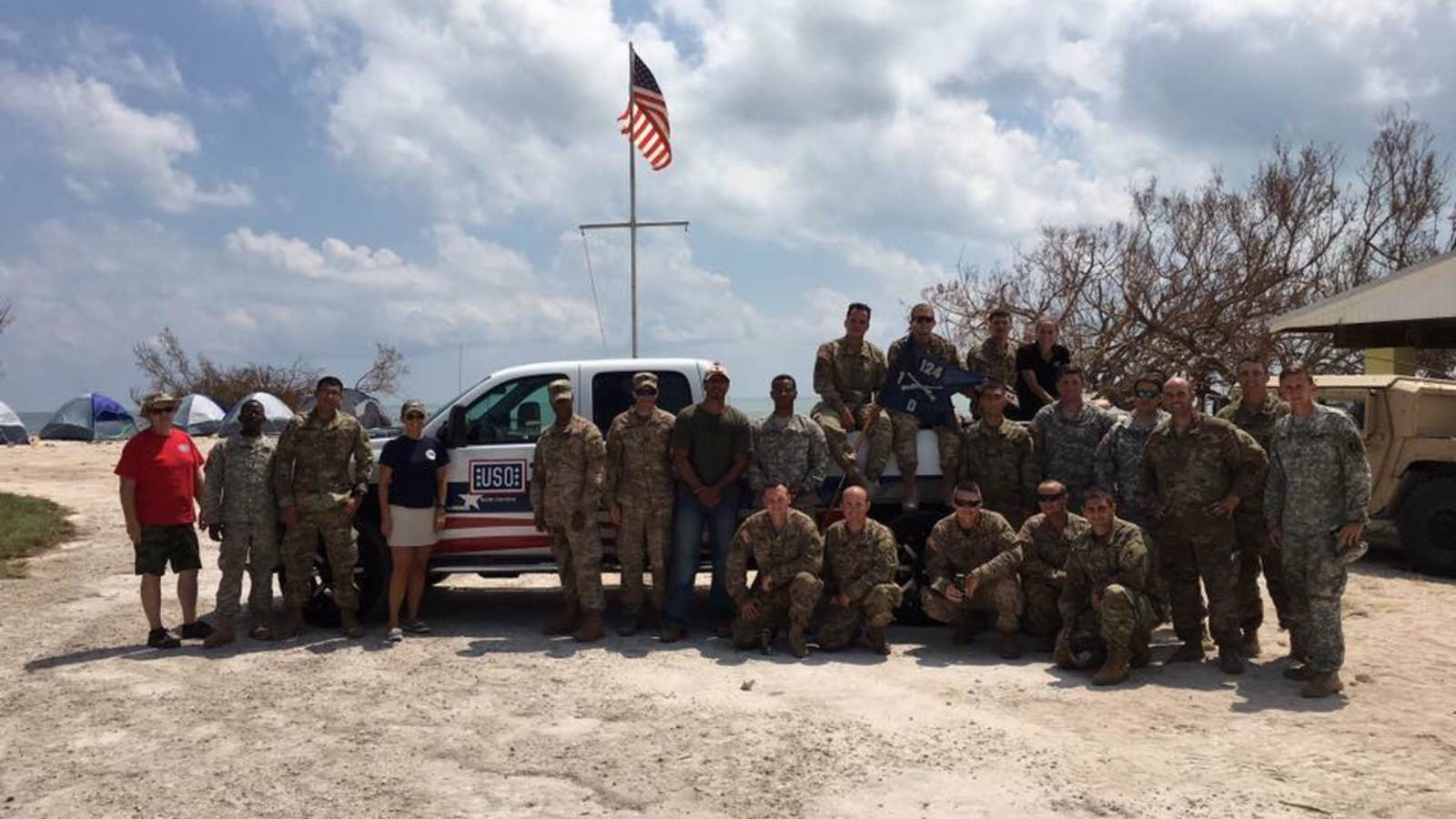 Hurricane Florence updates from the USO of North Carolina